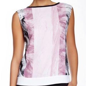 Helmut Lang Mason Abstract Top, Size L